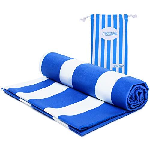 riptide Strandhandtuch, Blau/Weiß