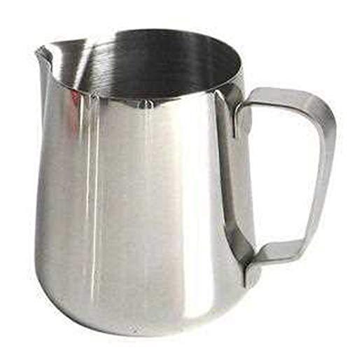 PULABO Edelstahl Milchtopf Milchaufschäumung Tasse für die Herstellung von Cap Puccino mit Ihrer Maschine für Kaffeemilch Mousse 150ml Kreativ und nützlich dauerhaft