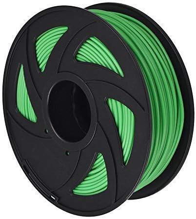 3D Printer Filament - 1KG(2.2lb) 1.75mm / 3 mm, Dimensional Accuracy PLA Multiple Color (Green,3mm)