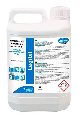 Limpiador clorado de superficies en gel Legibil 5L Bilper
