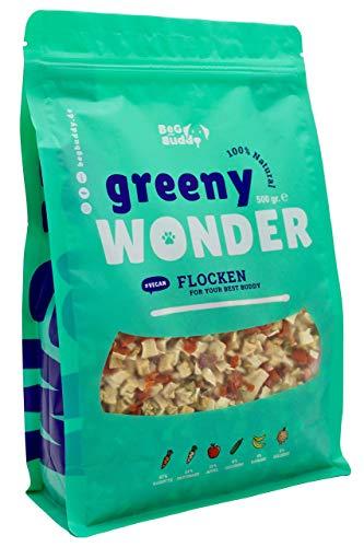 BeG Buddy Barf Hund Gemüse Mix Greeny Wonder, natürliche Ernährung, Ergänzungsfutter glutenfrei 500 g