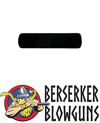 "Berserker Blowguns .40 Cal Blowgun Foam Grip Approximately 4"" Long from Berserker Blowguns"