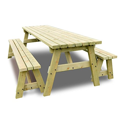 Astonishing Garden Table And Bench Set Amazon Co Uk Gamerscity Chair Design For Home Gamerscityorg