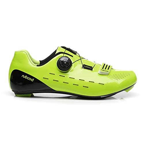 UYBAG Men's and Women's Cycling Shoes Professional Lightweight Road Bicycle Shoes Mountain Bike Athletic Cycling Racing Shoes Outdoor Sports Best Choice,40