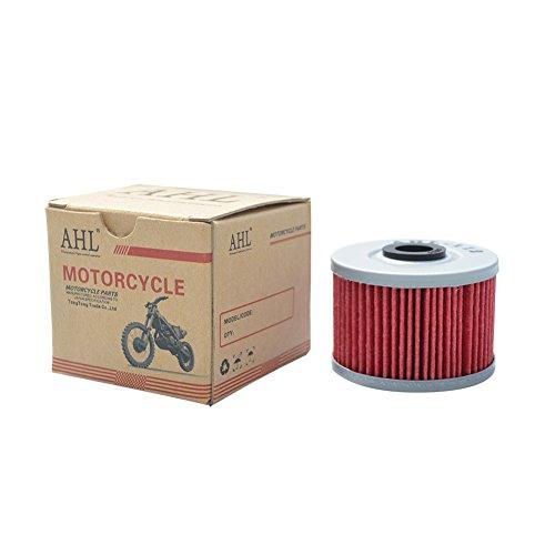 AHL- Motocicleta Filtro de Aceite oil filter para HONDA XR600R 600 1985-2002