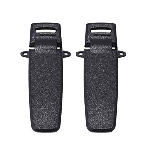 2pcs TYT Back Belt Clip for Two Way Radio TYT DP-290 MD-280 MD-380 DM-280 Plus Screws Only for MD-380 (2)