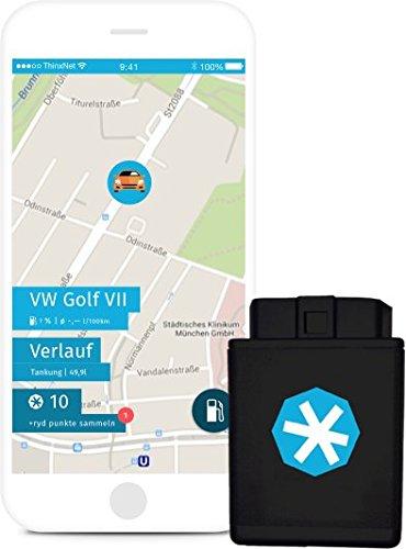 ryd box | OBD Stecker & Auto App | mit Sim-Karte | GPS Tracker | Elektronische Fahrtenbuch-Option | Diebstahlwarnung | Fehlerspeicher auslesen | Bordcomputer | SmartCar Upgrade