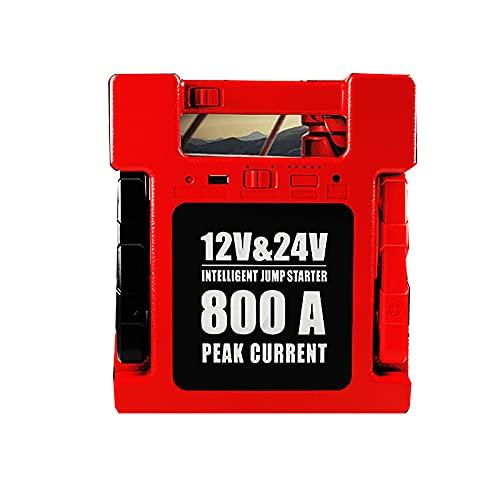 27000mAH Batería de Emergencia para automóvil Convertidor de Arranque portátil Herramienta eléctrica para Exteriores Cargador Inteligente Gasolina Diesel 12V USB LED Cargador de Linterna