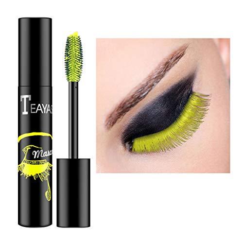Dinglong Cosmétique Multicolore Mascara Maquillage Cils Extension Imperméable À L'eau Curling Cils (E)