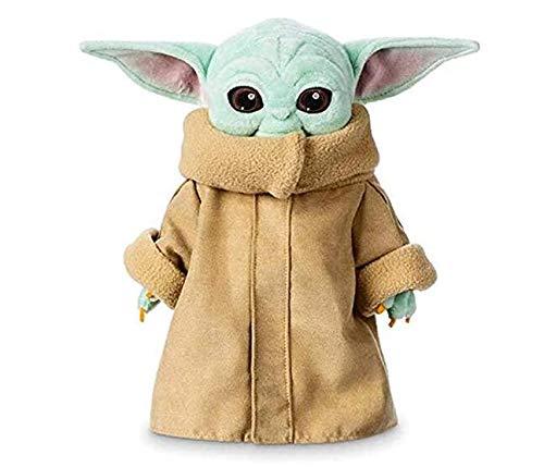 Baby Yoda Kuscheltier, schön Stofftier, Plüschtiere Geschenk, Krieg der Sterne Spielzeuge für Kinder 12 Zoll