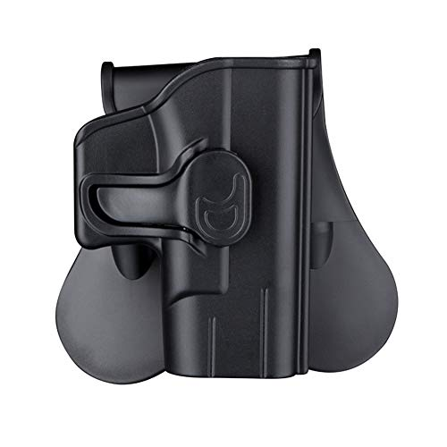 Gun Holster for Springfield Armory XD 3″ Sub-Compact 9mm/.40, Springfield XD 3'' Mod.2 Sub-Compact, 360° Adjustable OWB Paddle Tactical Holster & Quick Release - Right Handed