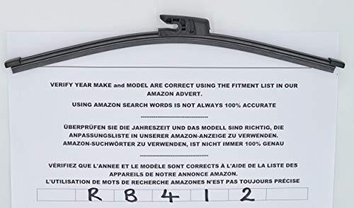 RB37 Spazzola tergicristallo posteriore 34cm