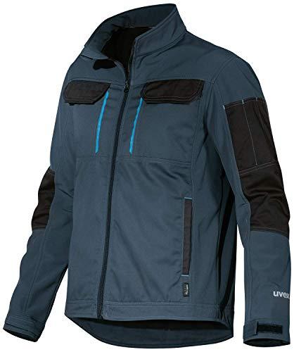 Uvex Tune-up Men's Softshell Jacket - Chaqueta de trabajo - Azul oscuro - 2XL
