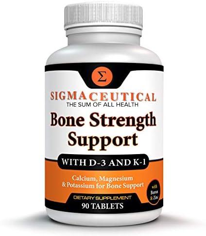 Bone Strength Calcium Magnesium Supplement Bone Health Boron Supplement Calcium Citrate w Vitamin product image