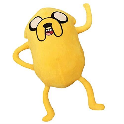 N\A Adventure Time Peluches, Muñecos De Peluche, Regalos De Cumpleaños para Niños Decoración De Fiesta, 37cm Peluche Jake el Perro