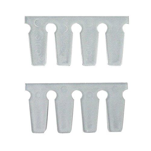 Cornat Keramik Sicherheits Strip, das flexible, selbstklebende, schalldämmende Montageband für Sanitär, dient als Ausgleich zwischen, Porzellan und Fliese, 500 mm, 1 Stück, T381899
