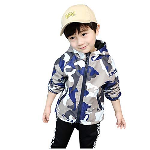 Mantel baby jongens meisjes lente herfst jas voor 2-8 jaar jongens camouflage windjas capuchon trenchcoat jassen kinderen kleine kinderen winterjas outdoortrui