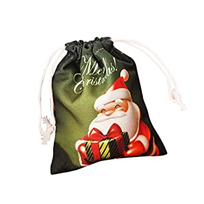 Fine Christmas Cute Witches Candy Bag, Packaging Children Party Storage Bag Gift Candy Storage Birthday Party Gift Kiddie Toys and Candies Bag (D)