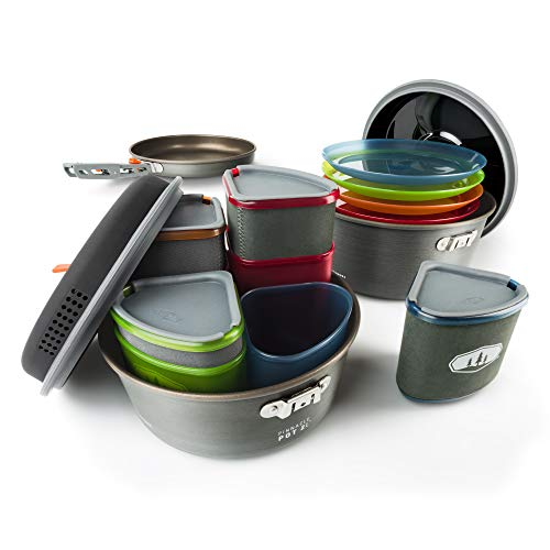 GSI Outdoors, Pinnacle Camper Cooking Set for Camping and...