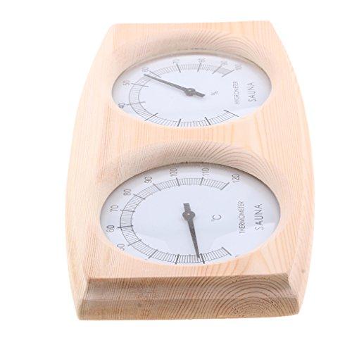 20 140 ° Holz Sauna Thermometer Hygrometer Temperatur Meter Sauna Zimmer