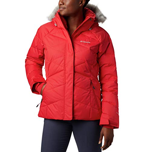 Columbia Damen Lay D Down II Jacket Jacke, Rot (Red Lily), S
