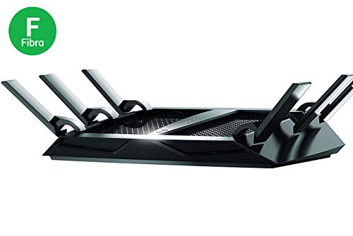 Netgear R8000 Nighthawk X6 Smart WiFi Router, Velocità wireless...