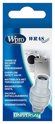 Wpro ACQ001 Vanne Anti-Débordement Aquastop Machine à Laver/ Lave-Vaisselle