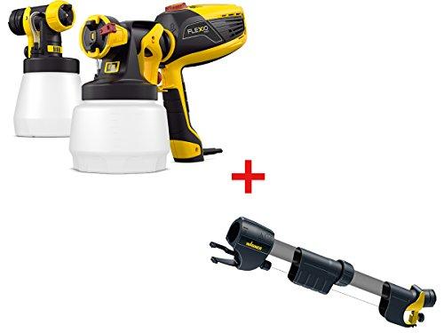WAGNER Bundle Farbsprühgerät Universal Sprayer W 590 Flexio inkl. Griffverlängerung