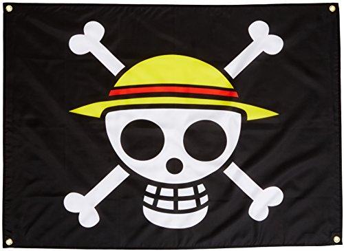 GE Animation Ge-6468 One Piece Luffy Chapeau de Paille de Drapeau de Pirate