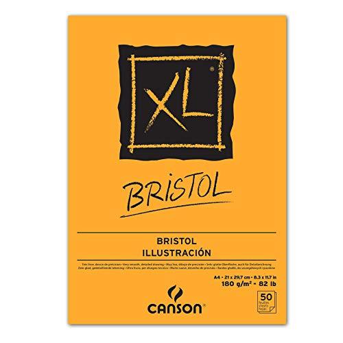 CANSON XL® Bristol - Blocco da disegno DIN A4 bianco