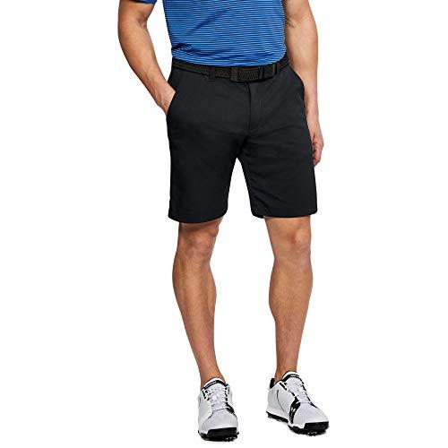 Under Armour Men's Showdown Golf Shorts, Black (001)/Black, 34