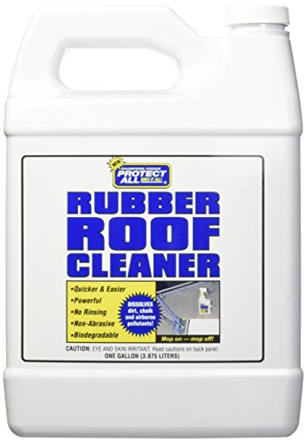 RV Rubber Roof Cleaner - Non-Toxic, Non-Abrasive RV roof detergent 1 Gallon - Protect All 67128 , White