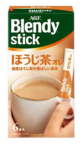 AGF ブレンディスティック ほうじ茶オレ 6本 ×6箱