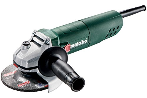 Metabo W 850-125 - Amoladora angular (11000 RPM, Negro, Verde, Plata, 7000 RPM, 1,9 Nm, 12,5 cm, M14)