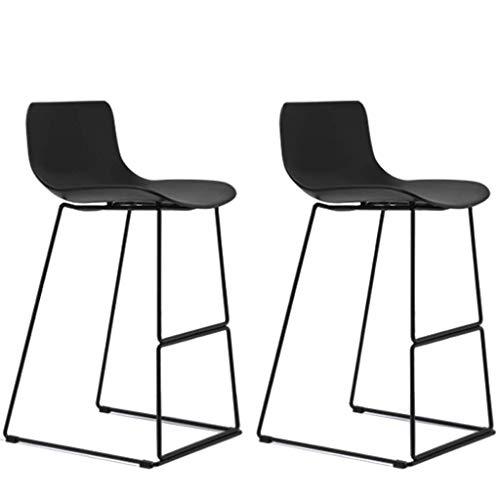 JPL Sillas de escritorio, juego de 2 piezas para taburetes d