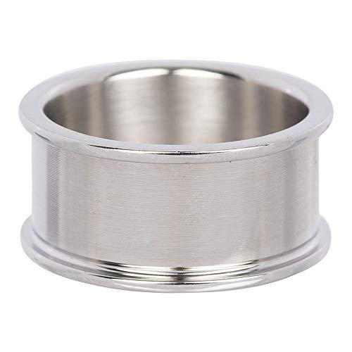 iXXXi BASISRING silber - 10 mm Größe Ringgröße 18