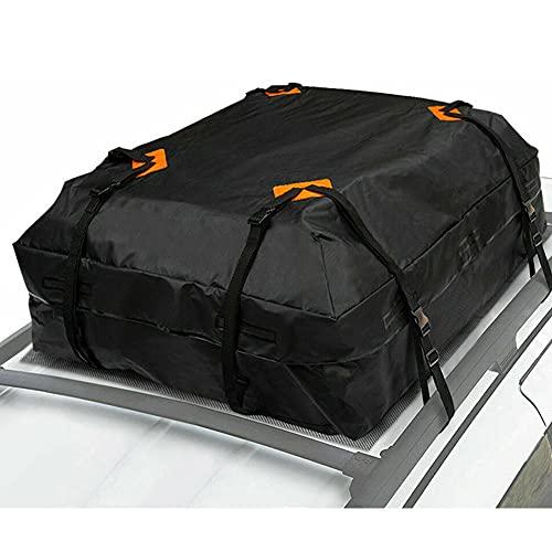 Borsa da Tetto per Auto, 425 L Pieghevole Impermeabile Portatile Porta Bagagli Box da Tetto, Adatto per Viaggi E Tutti I Veicoli con Portapacchi Tessuto 420D Oxford (Pacchetto tetto)