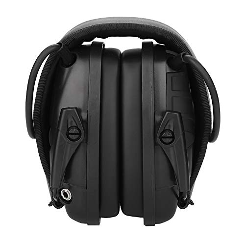 Hakeeta Elektronische schieten oorbeschermers helmen gehoorbescherming gehoorbescherming geluidsdemping schokdempende jacht oorbeschermers compacte klap-oorbeschermers automatische uitschakeling
