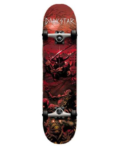 Darkstar Komplett Skateboard FP Graveyard Red, Multi Color, 11314049