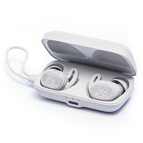 Jaybird Vista 2 True Wireless Auricolari per lo sport Bluetooth con custodia di ricarica: ANC, Sport Fit, 24h di batteria, auricola riresistenti a tenuta stagna, chiamate di alta qualità - Grigio