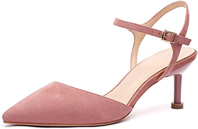 ProDIgal Women's Pointed Toe Stiletto Heel Pumps