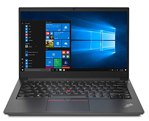 Lenovo ThinkPad E14 - Portátil 14' FullHD (Intel Core i5-1135G7, 8GB RAM, 256GB SSD, Intel Iris Xe Graphics, Windows 10 Pro), Negro - Teclado QWERTY español