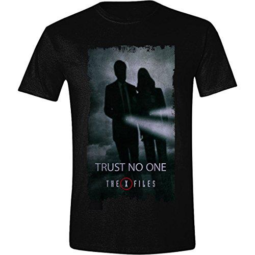 X-Files - Trust No One Homme T-Shirt - Noir - Taille XX-Large