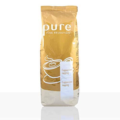 PURE Fine Selection Topping, 1000g | Automatengängiges Toppingpulver für köstlichen Milchschaum | Leckerer Milchgeschmack, komfortables Handling