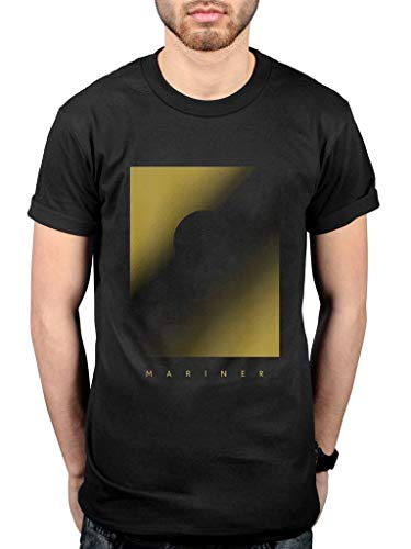 FOR Cult of Luna Mariner Yellow T Shirt T-Shirts à Manches Courtes(X-Large)