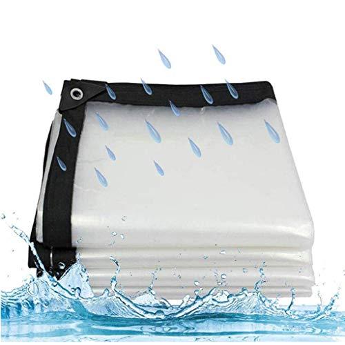 Sacysac dekzeil, waterdicht, transparant, geperforeerd, wind- en regenbestendig, tent