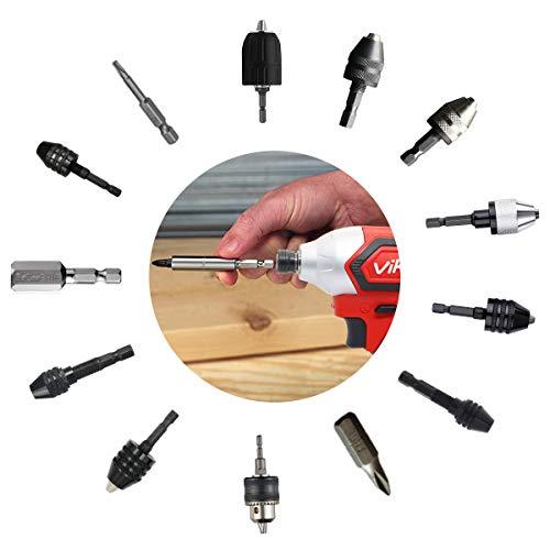 Vikky充電式インパクトドライバー18Vブラシレスコードレス4速オートストップLEDライト正逆転切替最大トルク330N・mマキタ電池使用可能(本体のみ/バッテリー・充電器別売り)