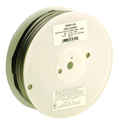 Wrap On 300' Pipe Guard Self Regulating Heating Cable [Set of 300]