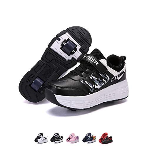 AGLOAT - Skateboardschuhe in Black, Größe Doppelrad-31EU