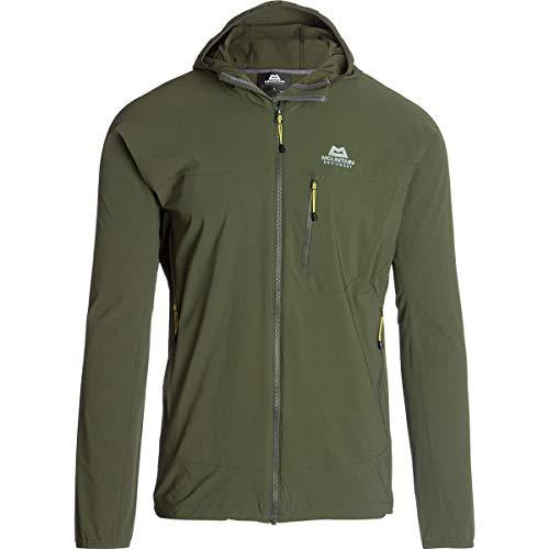 Mountain Equipment Echo Hooded Jacket olivgrün - M
